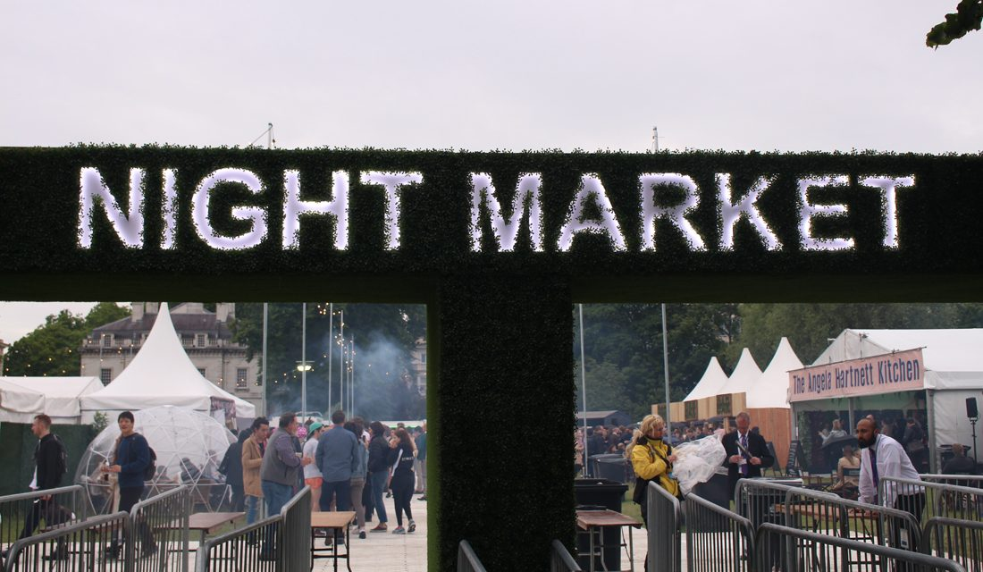 Reviewing the London Night Market launch