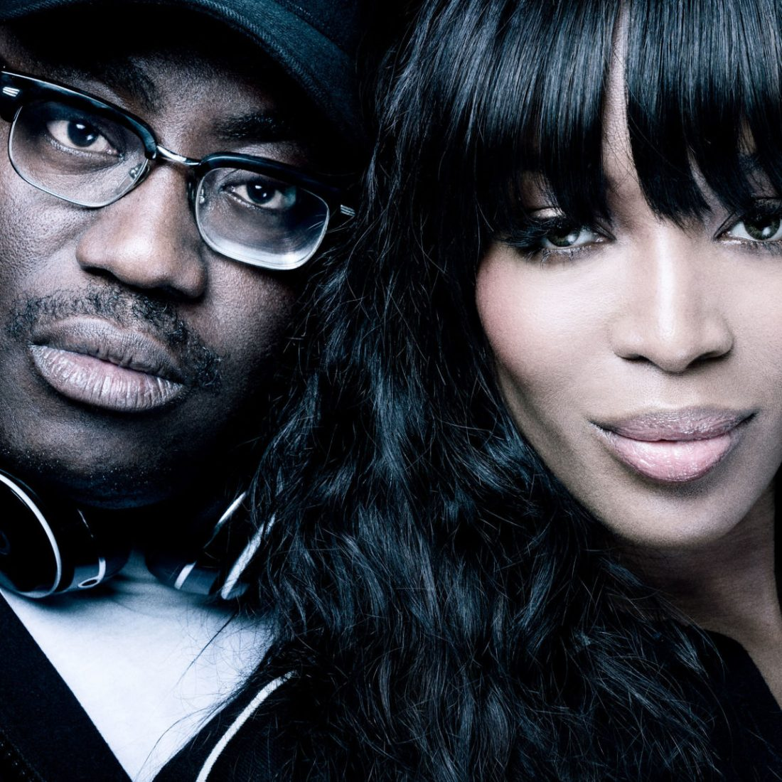 Edward Enniful and Naomi Campbell - Image credit: Benedict Evans