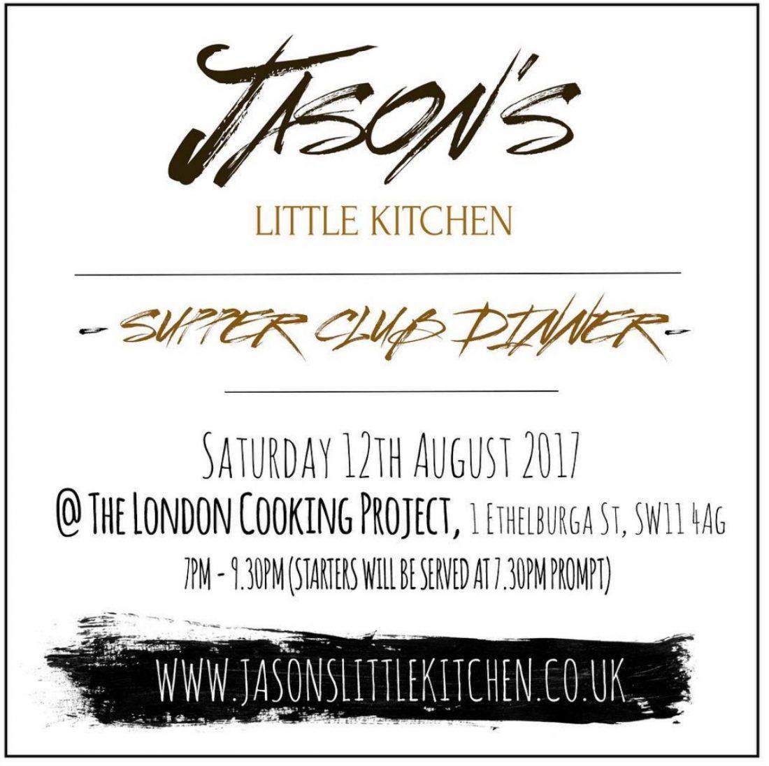 Get tickets to the next Jason's Little Kitchen