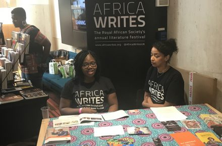 What happened at this year's Africa Writes event?