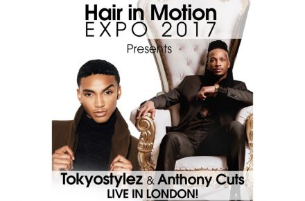 Celeb stylists Tokyo Stylez and Anthony Cuts headline Hair in Motion expo
