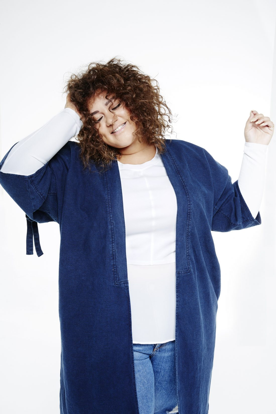 We meet the poster woman for body positivity: Grace Victory