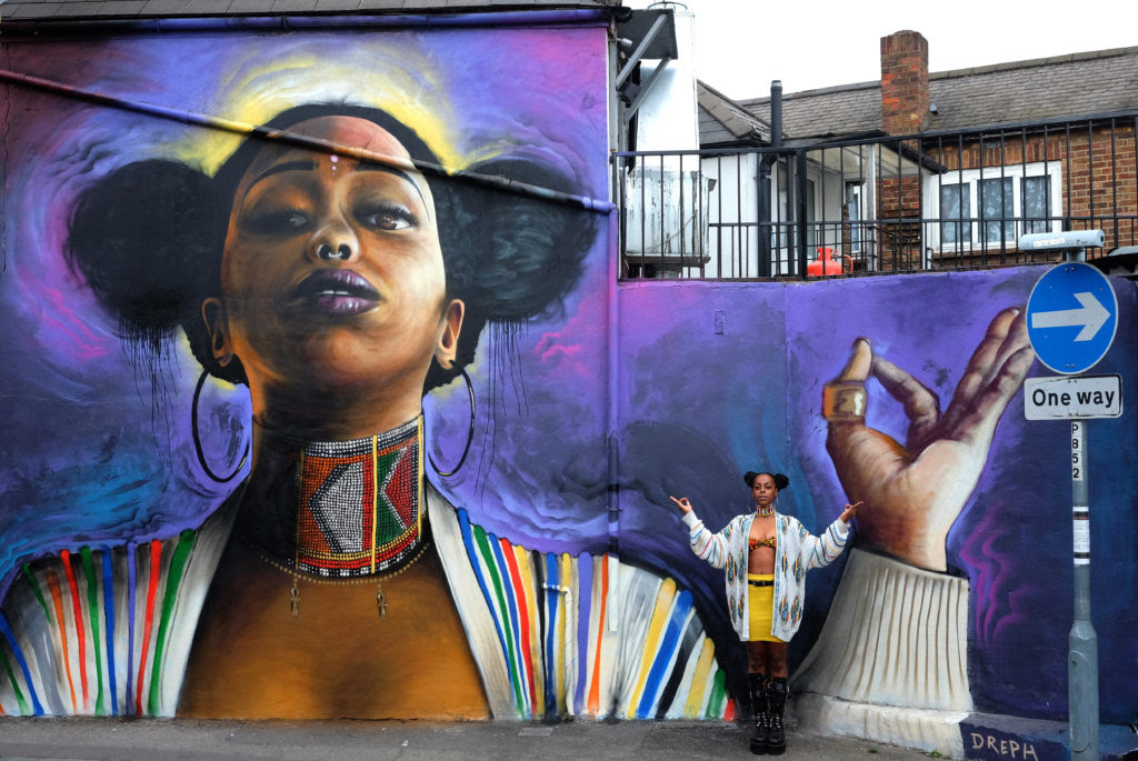 London-based artist tells black women: You Are Enough