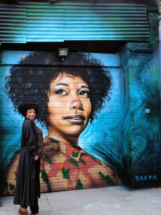 Dreph London-based artist tells black women: You Are Enough