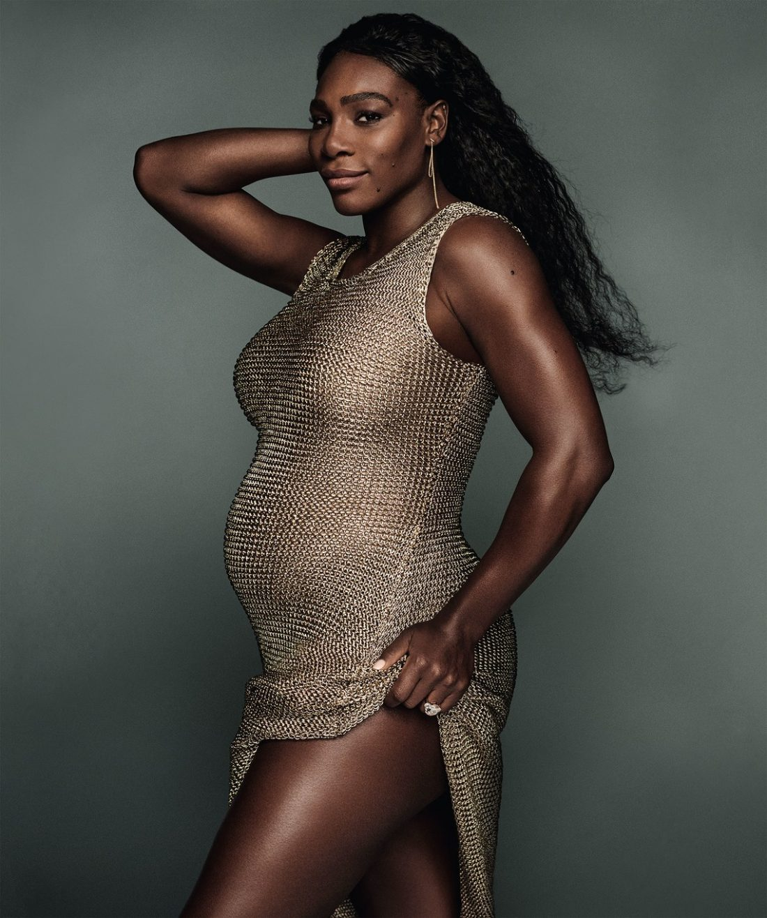 I'll be back before you know it! Serena Williams