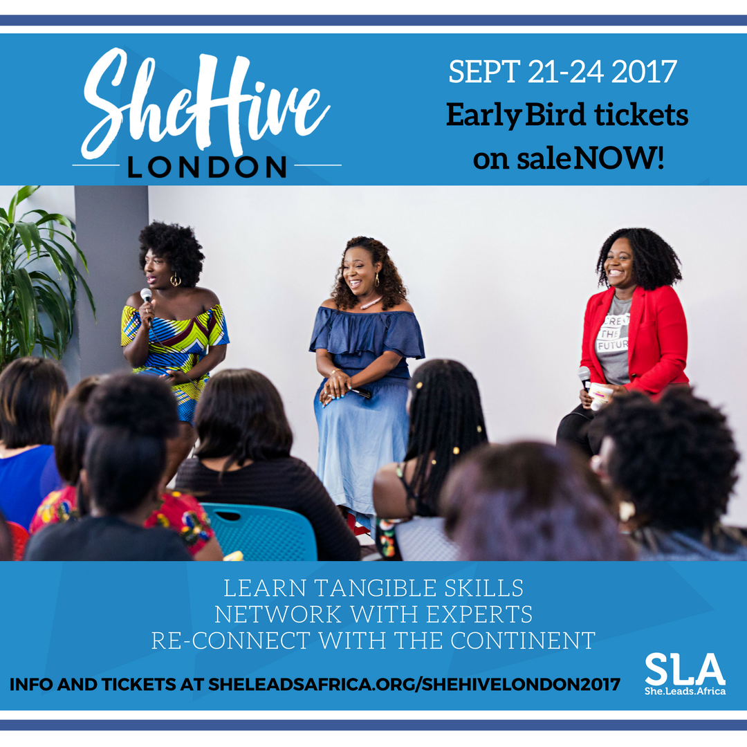 What's the buzz around SheLeadsAfrica? Head to SheHive London