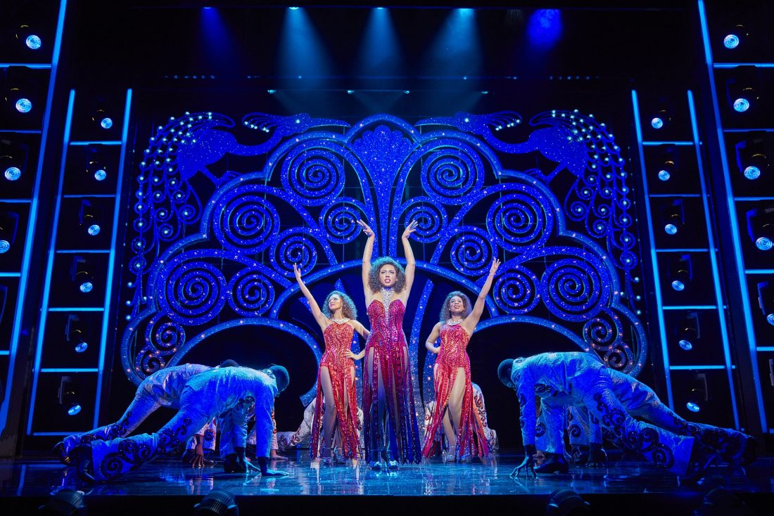 Reviewing Dreamgirls the musical