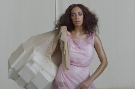 Solange takes a seat at the Tate Modern