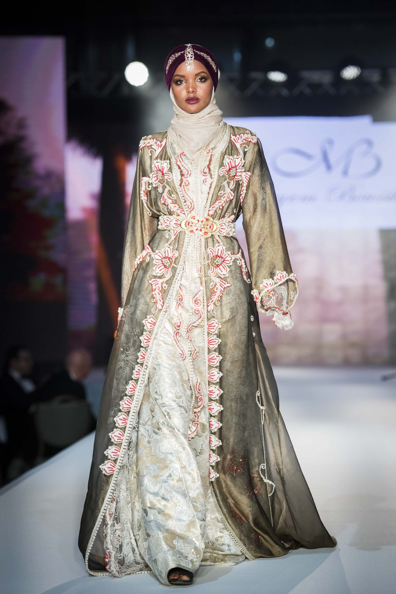 IN PICTURES: Londons Modest Fashion Week designers Gulf