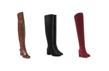 Jumping on the over-the-knee boots trend BOOTS,SHOES,FASHION,KNEE BOOTS,WINTER SHOES