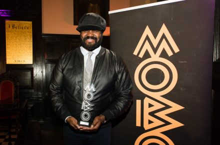 MOBO Awards honour for Jazz musician Gregory Porter!