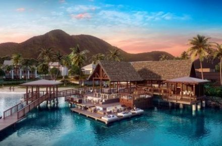 Park Hyatt Hotel lands on St Kitts