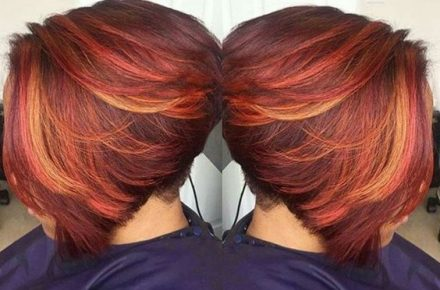 For flash and flair, get red hair!