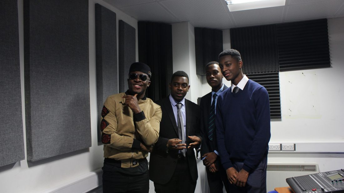 Inspiring the next generation: big-hearted Fuse ODG visits pupils