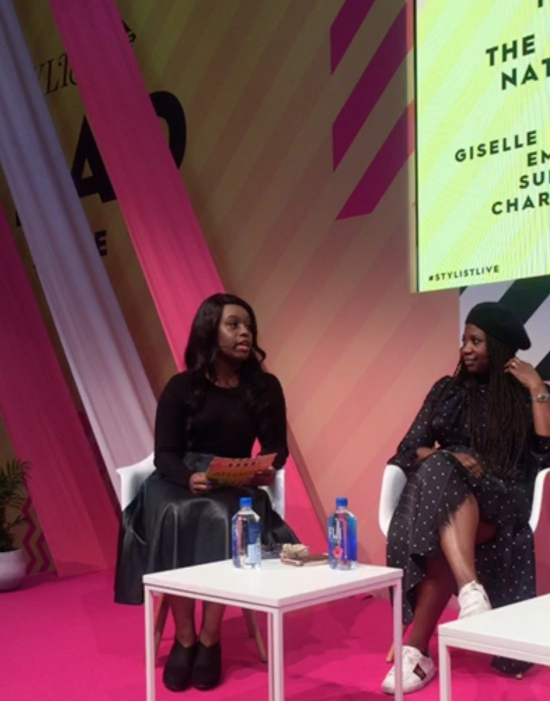 Discussing the politics of natural hair at Stylist Live