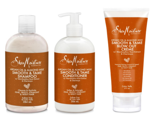 Melanmag Loves: Essentialle and Shea Moisture Smooth & Tame