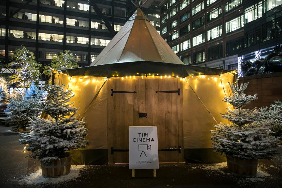 Experience as Winter Forest in the heart of London