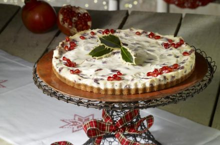 Dish of the week: Festive Cranberry Cheesecake