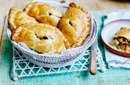 Dish of the week: Roast chicken pasties