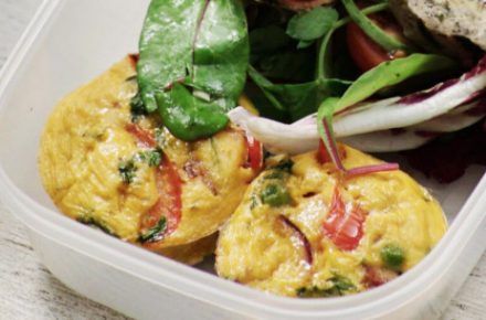 Dish of the week: Mini Chorizo and PERi-PERi Frittatas