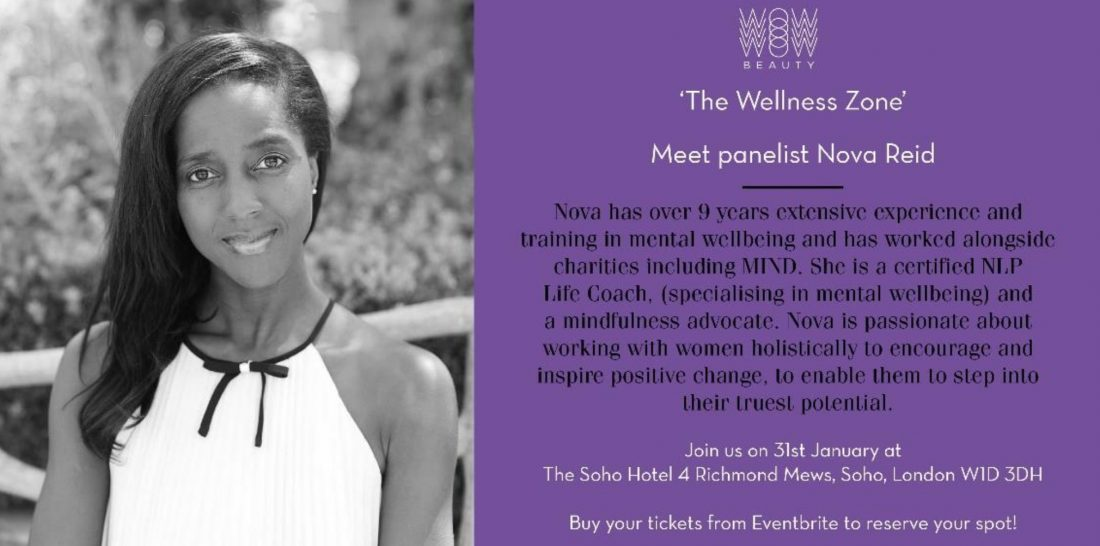 Why you need to be at the WOW Beauty Wellbeing Zone