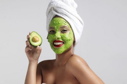 35752691 - pretty woman with an avocado facial mask. Five natural at-home beauty remedies that really work HEALTH AND WELL-BEING,natural,home beauty remedies