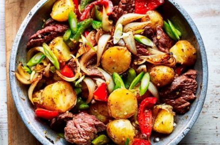 Dish of the week: Chinese pepper steak and potato stir-fry