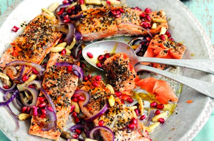 Dish of the week: Middle-Eastern salmon sharing platter