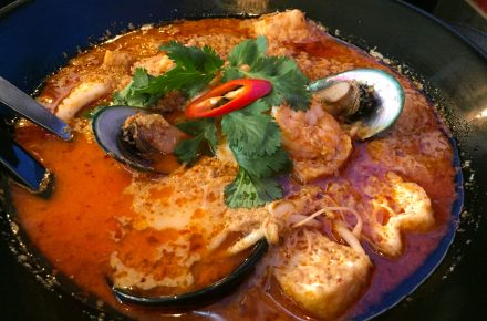 Ekachai Seafood Curry Laksa