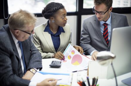 49485624 - business team meeting discussion connection concept One in five people still being racially abused at work, says new book
