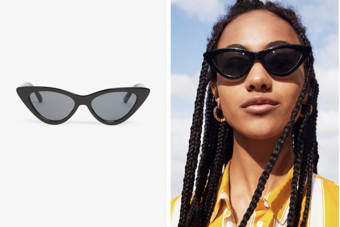 March Picks Monki Cat eye sunglasses
