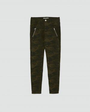 Zara Camoflage jeans