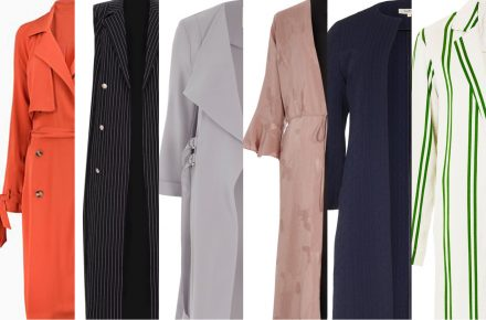 Give your outfit a spring spruce-up with these 8 duster coats