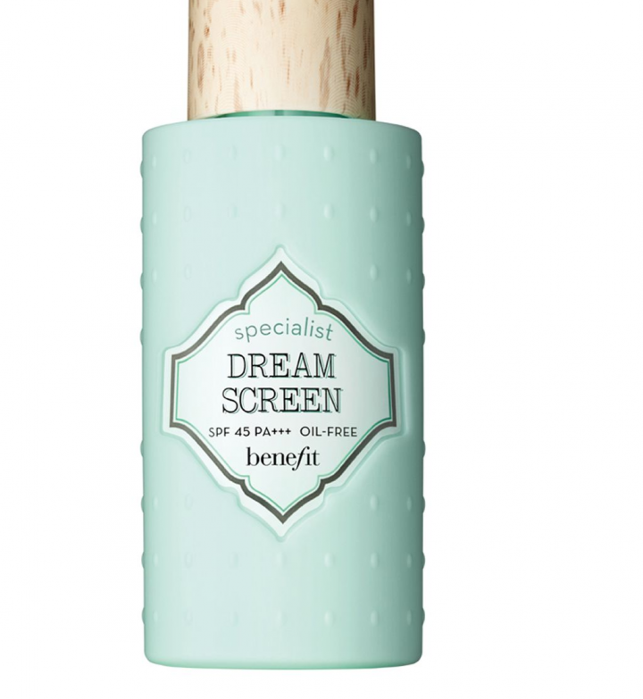 Sunscreen protection Benefit B.Right Dream Screen suntan lotion