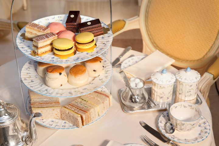 THE RITZ  afternoon tea for two