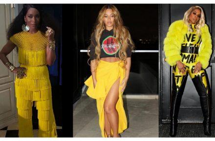 Yellow, the colour of the season