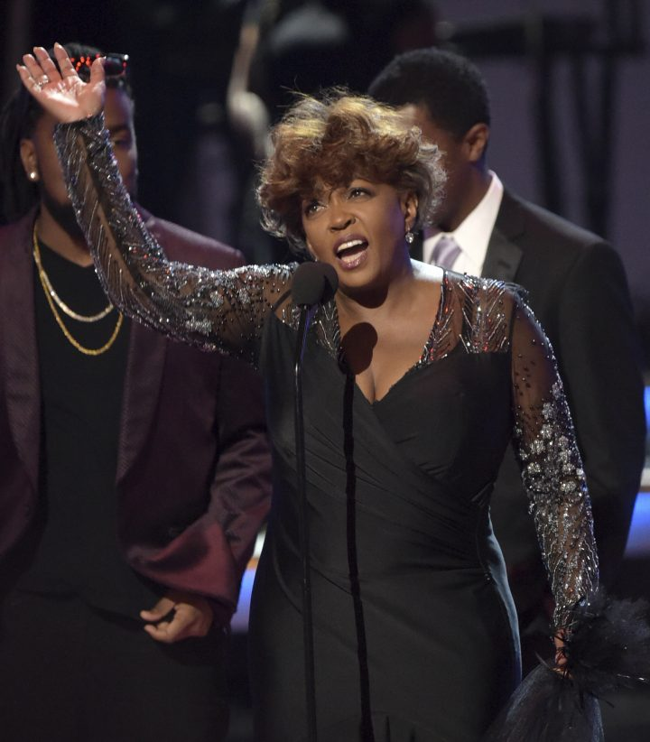 Anita Baker honoured at BET Awards