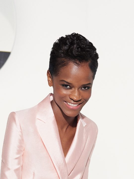 Letitia Wright for bareMinerals