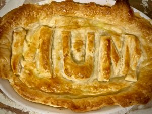 curried chicken pie