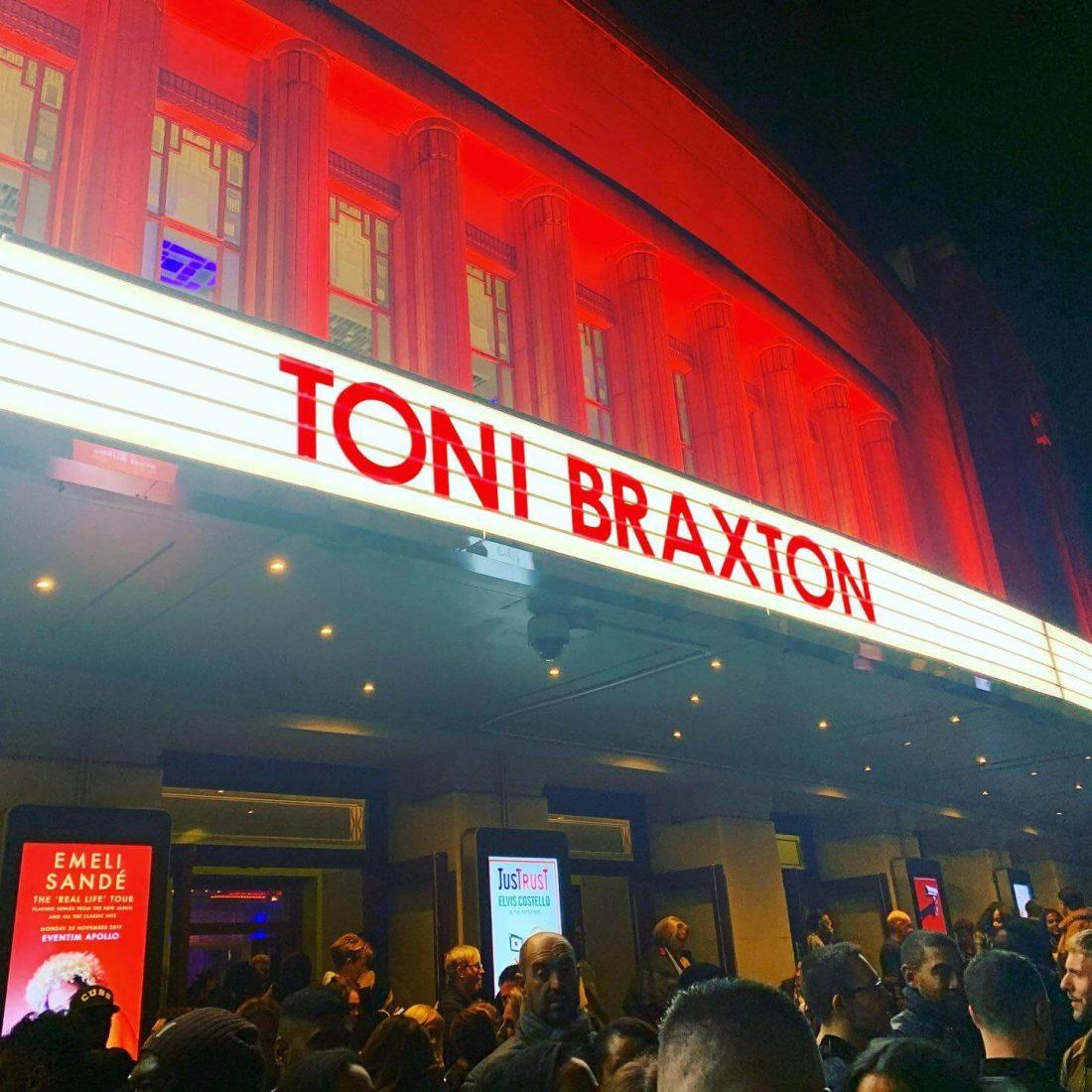 Toni Braxton Long As I Live Tour
