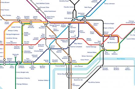 Black History Tube Map