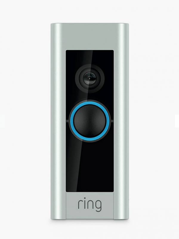 Ring Smart Video Doorbell Pro with Built-in Wi-Fi & Camera-min